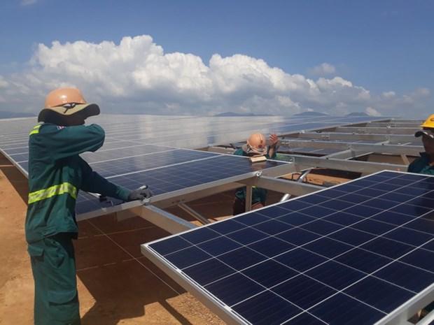 宁顺力争成为越南全国可再生能源中心 hinh anh 1
