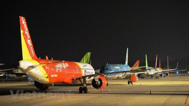 从现在到8月底越南将安排50趟航班将1.3万余名旅外越南公民接回国 hinh anh 1