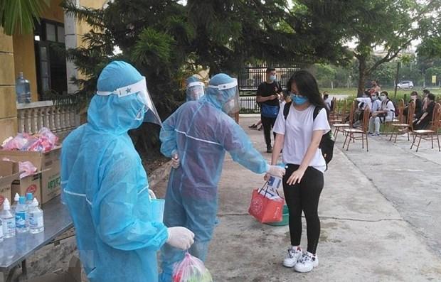 7月20日越南新冠病毒检测结果呈阳性反应的只有15例 hinh anh 1