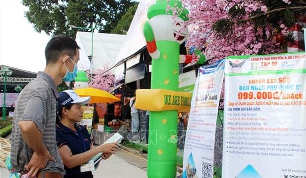 2020年第16届胡志明市旅游节共吸引参观者近20万人次 hinh anh 1