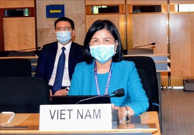 联合国人权理事会第44届会议闭幕 hinh anh 1