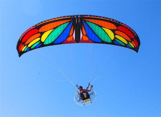2020年第一届越南滑翔伞俱乐部锦标赛正式闭幕 hinh anh 2