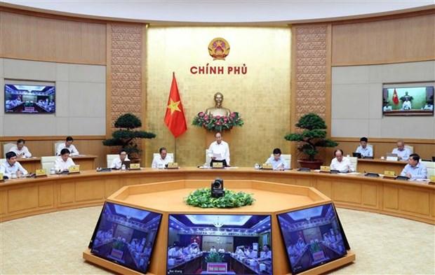 越南政府总理指导加快公共投资资金到位进度 hinh anh 1
