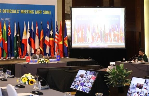 2020东盟轮值主席国:越南主持召开东盟地区论坛高官会 hinh anh 2