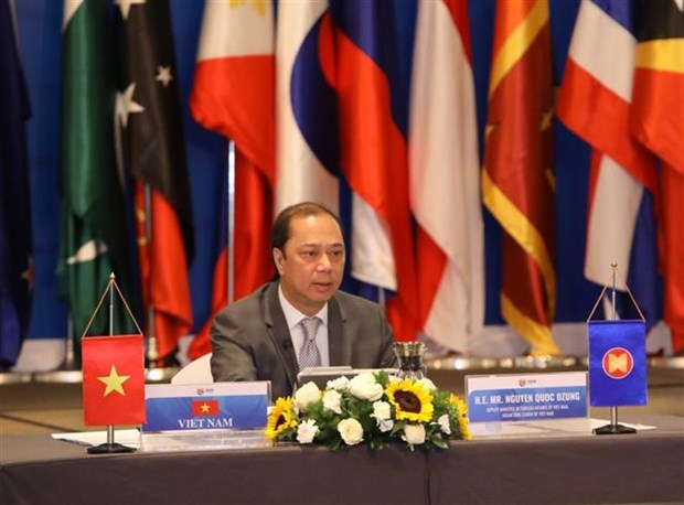 2020东盟轮值主席国:越南主持召开东盟地区论坛高官会 hinh anh 1