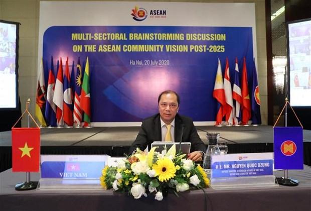 2020东盟年:讨论2025年后东盟共同体愿景制定方向 hinh anh 1