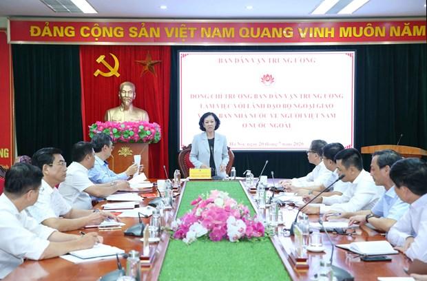 邓明魁副外长:海外越南人是深化越南与各国合作的重要因素 hinh anh 1