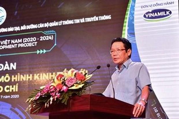 """""""数字化转型与新闻媒体新经济模式""""论坛:新闻收费阅读成为热点问题 hinh anh 3"""