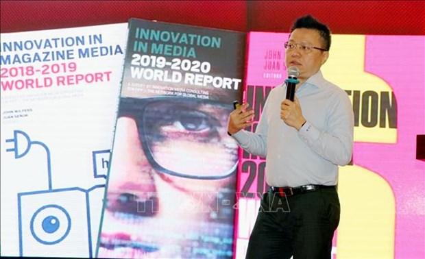 """""""数字化转型与新闻媒体新经济模式""""论坛:新闻收费阅读成为热点问题 hinh anh 2"""