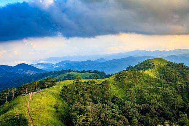 斜能-潘勇——欣赏美丽的山区之路 hinh anh 1