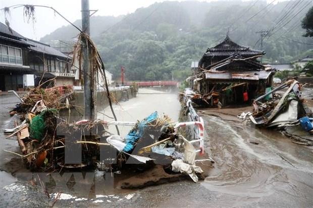 东盟外交部长就日本洪水和泥石流发表声明 hinh anh 1