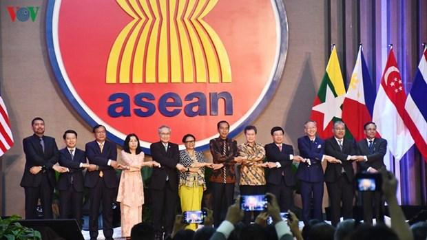 越南加入东盟25年 与东盟共同提升地位 hinh anh 1