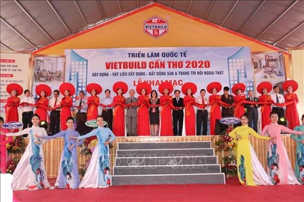 2020年越南(芹苴)国际建筑建材家居展览会正式开展 hinh anh 1