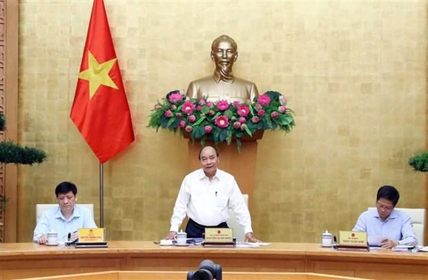 越南政府总理阮春福高度评价平顺省公共投资资金到位进度 hinh anh 2