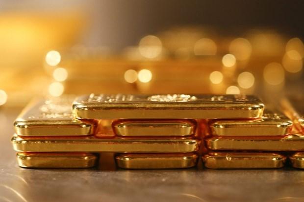 24日越南国内黄金价格再创新高 每两突破5500万越盾 hinh anh 1