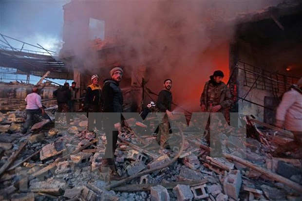 越南强调解决叙利亚恐怖主义挑战的立场 hinh anh 1