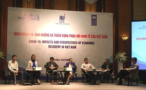 新冠肺炎疫情对越南弱势家庭和企业产生负面影响 hinh anh 1