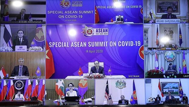越南加入东盟25周年:越南对东盟经济的吸引力与活跃发展做出巨大的贡献 hinh anh 1