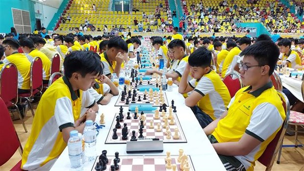 2020年国家青少年象棋锦标赛吸引近1300名运动员参赛 hinh anh 2