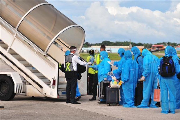 新冠肺炎疫情:将在古巴和德国的270名越南公民接回国 hinh anh 1