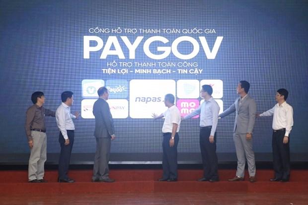 越南通过PayGov促进国家在线公共服务平台的电子支付能力 hinh anh 2