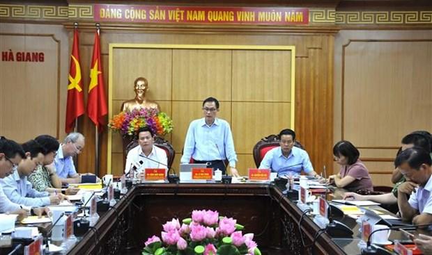 外交部副部长黎淮忠:河江省应继续发挥好与中国的合作效果 hinh anh 1