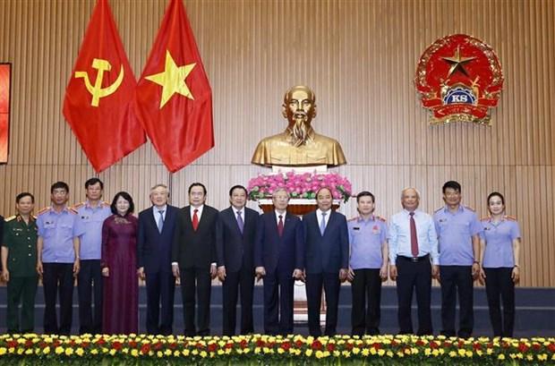 政府总理阮春福:检察部门需提高反腐斗争中的责任和本领 hinh anh 1