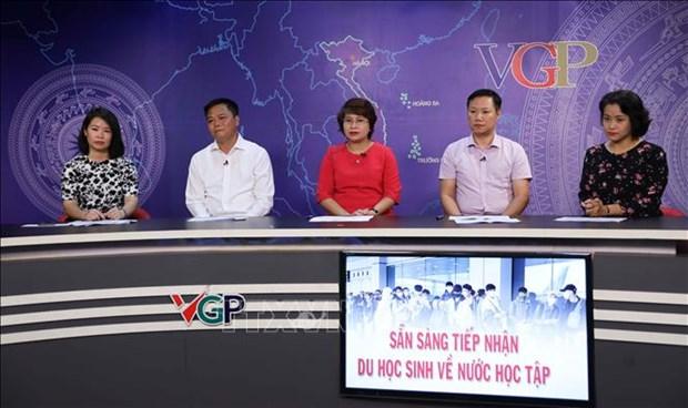 越南欢迎在国外学习的留学生归国学习 hinh anh 1