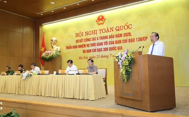 越南严密防控非法入境现象 hinh anh 1