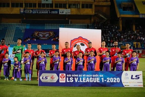 2020年越南足球甲级联赛:暂停2020年国家各项职业足球锦标赛的比赛 hinh anh 1