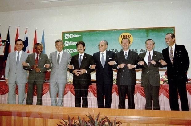越南加入东盟25周年:越南从一个成员国到东盟轮值主席国的作用 hinh anh 1
