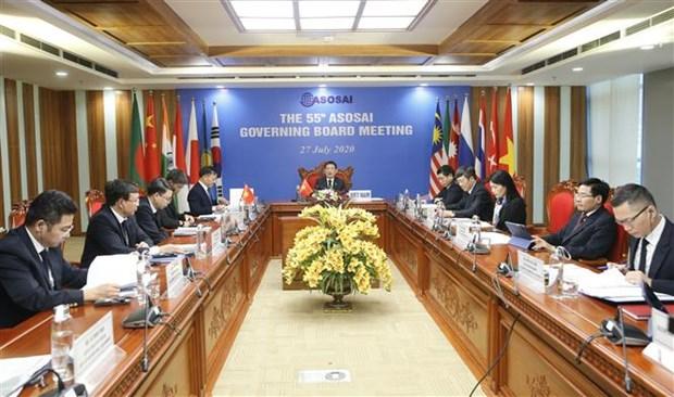 最高审计机关亚洲组织理事会第55次会议以视频形式召开 hinh anh 1