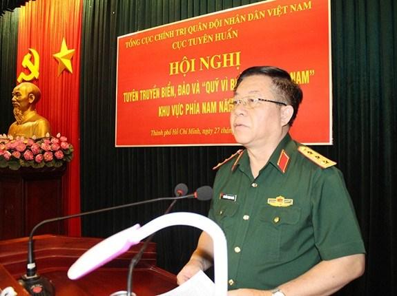 大力推动越南海洋岛屿宣传工作 hinh anh 1