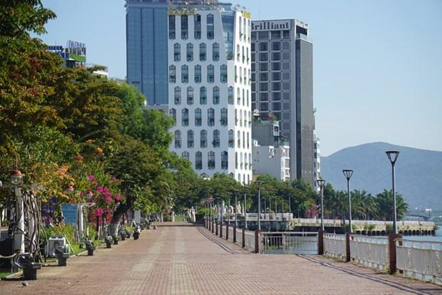 岘港市自7月28日13时按照政府总理第16号指示实施社交距离措施 hinh anh 1