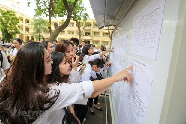 2020年高中毕业考试仍按计划举行 hinh anh 1