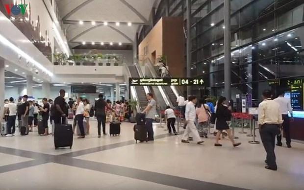 新冠病例猛增 柬埔寨密切关注入境航线 hinh anh 1