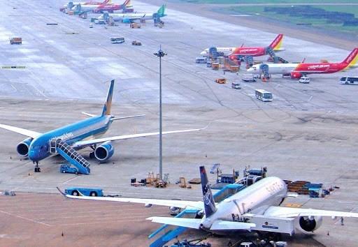 往返岘港市航班自7月28日零时起全部暂停 hinh anh 1