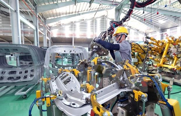 越南Thaco车厂今年向美出口69辆半拖车 hinh anh 1