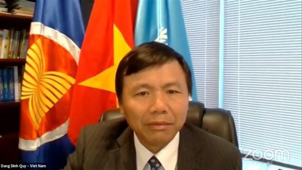 越南呼吁呼吁加强保护阿富汗女性权益 hinh anh 1
