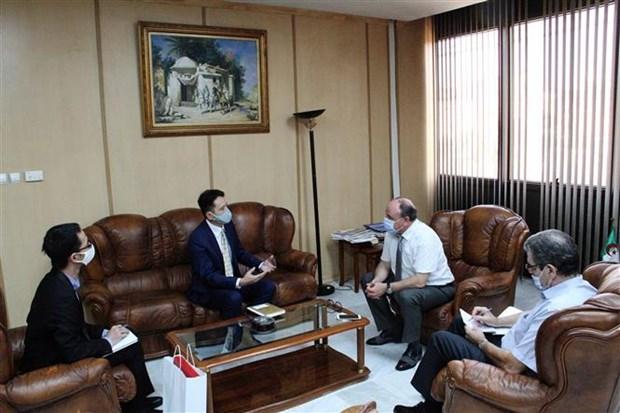 促进越阿两国国家通讯社间的合作关系 hinh anh 2