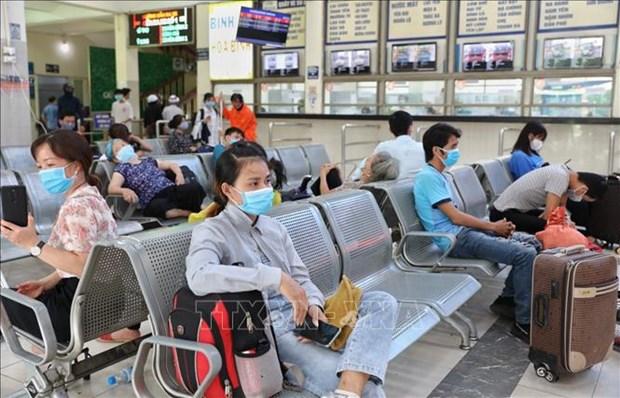 新冠肺炎疫情:河内市尽快追踪并对从岘港回来、与确诊病例有关的人员进行检测并隔离 hinh anh 1
