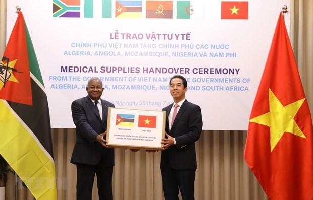 新冠肺炎疫情:越南向非洲国家提供医疗物资援助 hinh anh 1