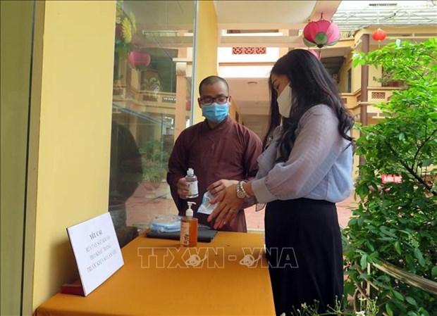 新冠肺炎疫情:越南佛教协会要求暂停举办各项节庆活动、法会和静修会 hinh anh 1