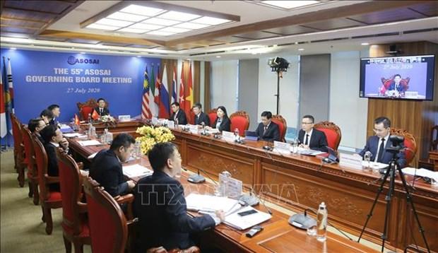 越南提出湄公河水资源审计的建议赢得ASOSAI成员组织的支持 hinh anh 1