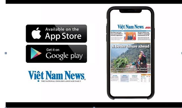 Vietnam News Daily应用软件:走进越南和走向世界的大门 hinh anh 1