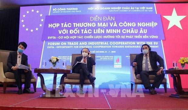 EVFTA—越南与欧盟面向可持续发展的动力 hinh anh 1