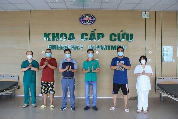 越南新增康复病例4例 hinh anh 1