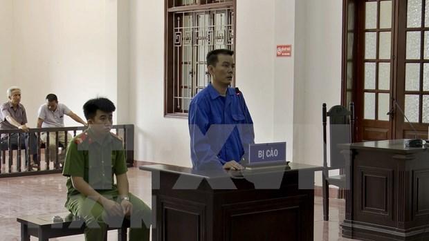 越南贩运10块海洛因砖的被告人获死刑 hinh anh 1
