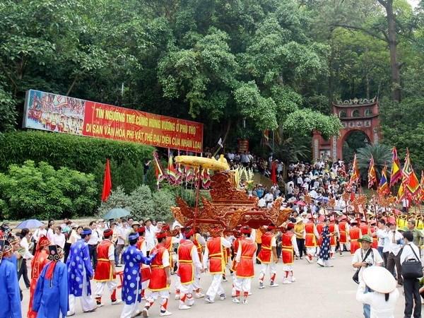 雄王祭祀信仰——越南民族的代表性非物质文化遗产 hinh anh 2