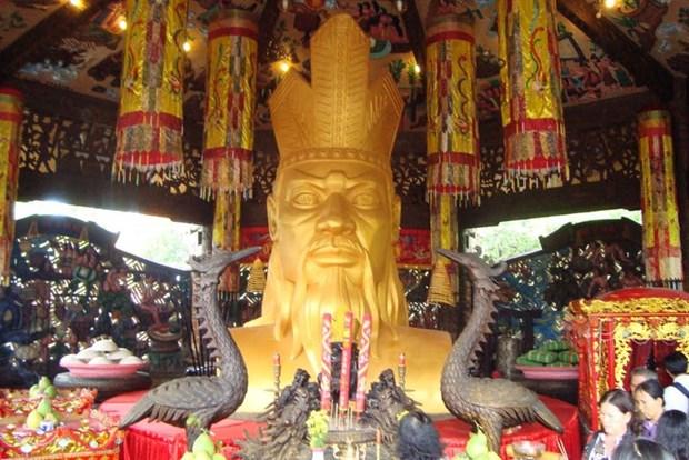 雄王祭祀信仰——越南民族的代表性非物质文化遗产 hinh anh 1